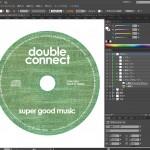 illustratorでCD盤面をデザイン(3)シルク印刷か、オフセット印刷か